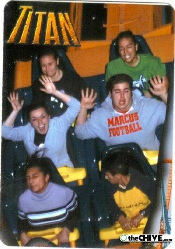 roller coaster 03 Best Roller Coaster Souvenir Photos Ever (19 Photos)