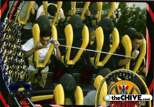 roller coaster 04 Best Roller Coaster Souvenir Photos Ever (19 Photos)