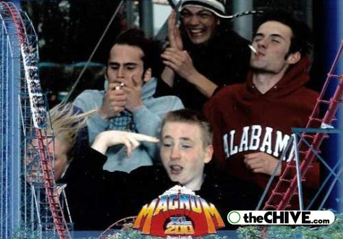 roller coaster 09 Best Roller Coaster Souvenir Photos Ever (19 Photos)
