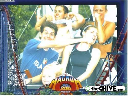roller coaster 15 Best Roller Coaster Souvenir Photos Ever (19 Photos)