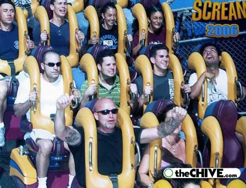 roller coaster 18 Best Roller Coaster Souvenir Photos Ever (19 Photos)