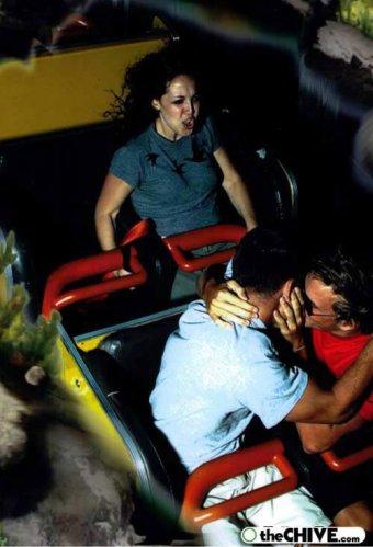 roller coaster 55 Best Roller Coaster Souvenir Photos Ever (19 Photos)