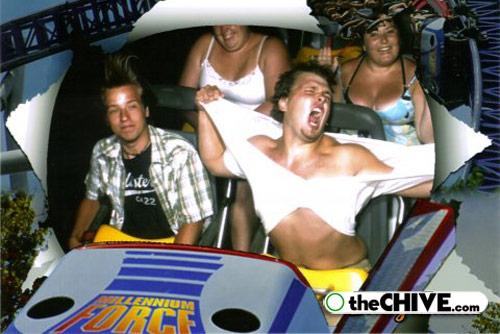 roller coaster lead Best Roller Coaster Souvenir Photos Ever (19 Photos)