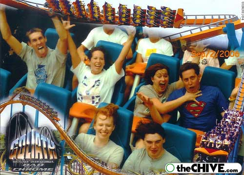 funny hilarious rollercoast Best Roller Coaster Souvenir Photos Ever (19 Photos)