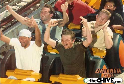leo john funny rollercoaste Best Roller Coaster Souvenir Photos Ever (19 Photos)