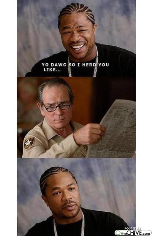 The Best of Xzibit's Yo Dawg Yo meme (14 photos) : theCHIVE