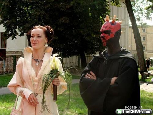 star wars lead 111 This Star Wars wedding is perfectly normal, not weird at all (22 Photos)
