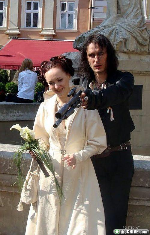 star wars lead 171 This Star Wars wedding is perfectly normal, not weird at all (22 Photos)