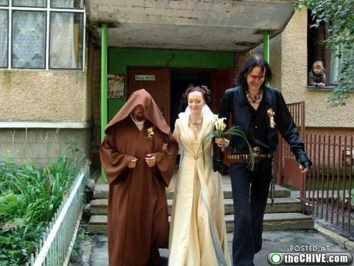 star wars lead 31 This Star Wars wedding is perfectly normal, not weird at all (22 Photos)