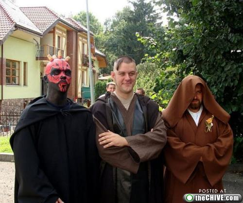 star wars lead 61 This Star Wars wedding is perfectly normal, not weird at all (22 Photos)