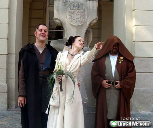 wars lead new This Star Wars wedding is perfectly normal, not weird at all (22 Photos)
