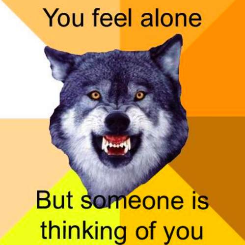 courage wolf funny 13 Courage Wolf, advice you can count on (17 Photos)