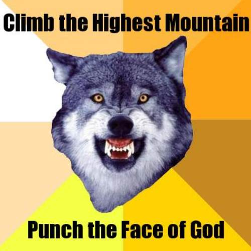 courage wolf funny 6 Courage Wolf, advice you can count on (17 Photos)