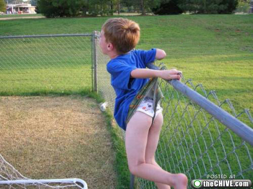 a wedgie 21 Wedgies: the worst kind of owned (22 photos)