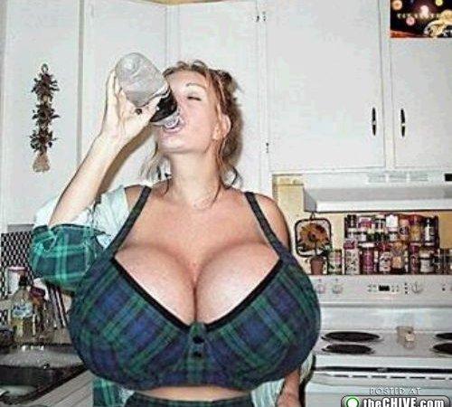 weird boobs