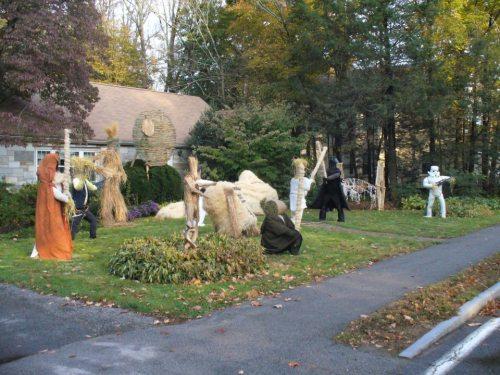 star wars scarecrows 11 An epic Star Wars scarecrow display (28 Photos)