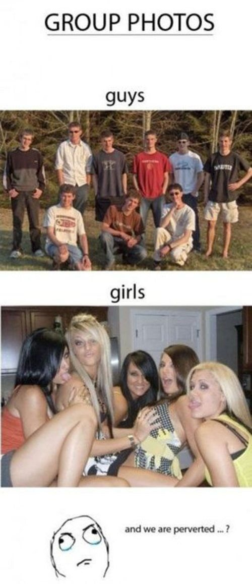 men women differences different versus2 Men and women are practically a different species (12 Photos)