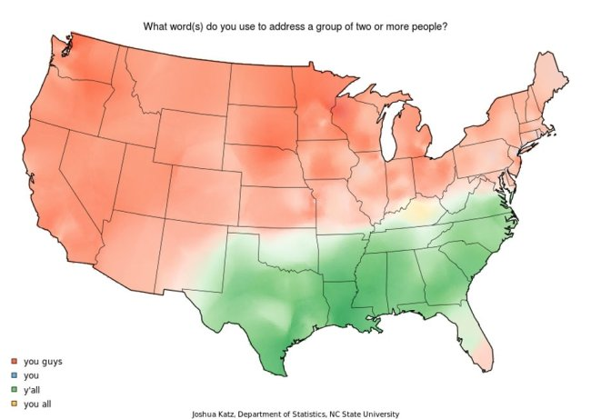 language maps 20 American accents, beautifully mapped (22 HQ Photos)