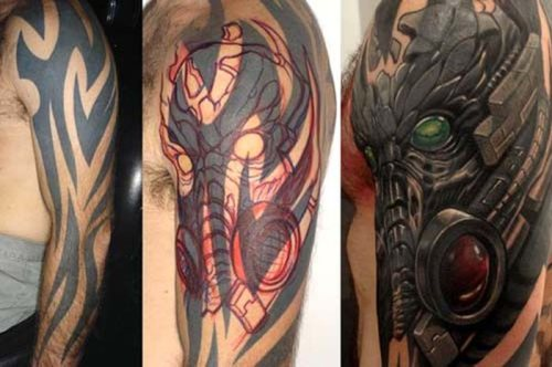 awesome tattoo cover ups 0 Brilliant tattoo cover up jobs (30 Photos)