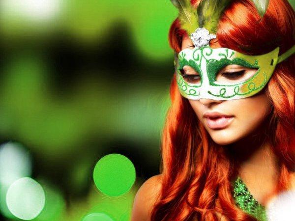 green gala masquerade