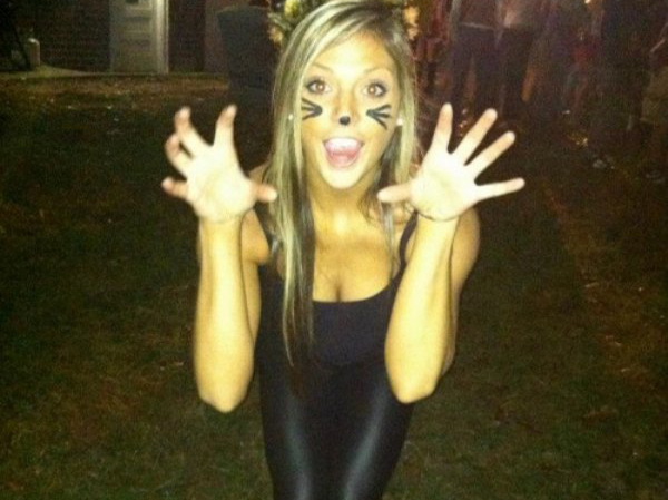 Girl cat costume
