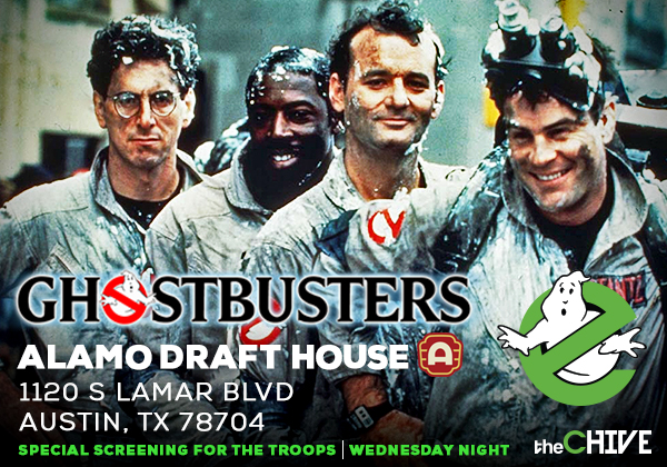 Ghostbusters alamo draft house