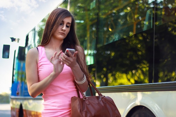 woman smartphone chatting girl pedestrian phone people mobile 948369 Where would we be without Tinder (30 Photos)