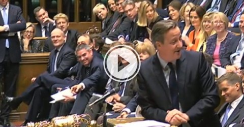 The Prime Minster said some dad joke puns at PMQ to celebrate Shakespeare.