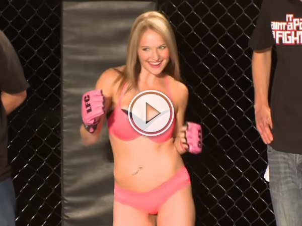 Someone has invented the Lingerie Fighting Championships and it looks pretty brutal.