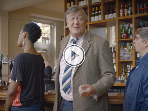 Stephen Fry gives some get tips on how to get along in the UK