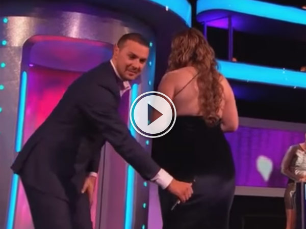 Take me out had a girl on who had a party trick that was very strange and she was very happy to demonstrate.