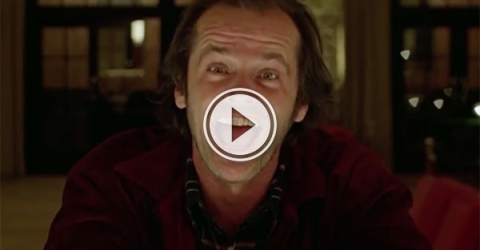 Supercut of bad guys smiling in movies (Video)