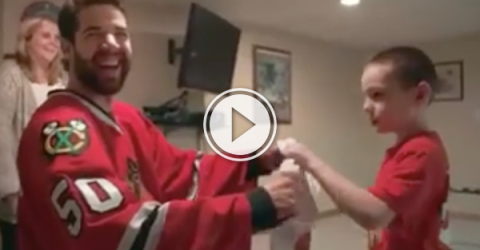 This NHL superfan story is like a snapshot to the feels (Video)