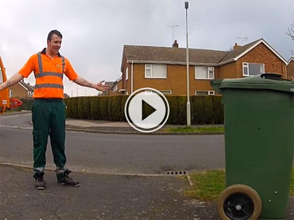 R/C dustbin from Inventor Colin Furze (Video)