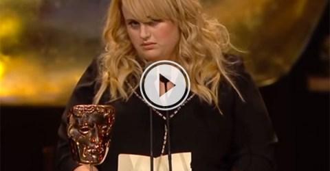 Rebel Wilson's BAFTA speech (Video)