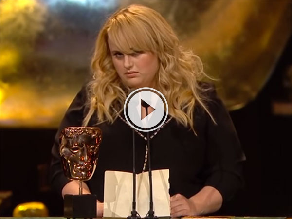 Rebel Wilson's BAFTA speech (Video)