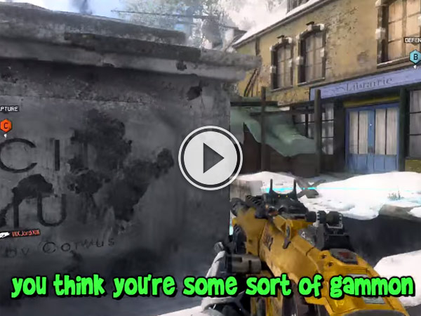 Footage of Scottish gamers banter over cod is hilarious