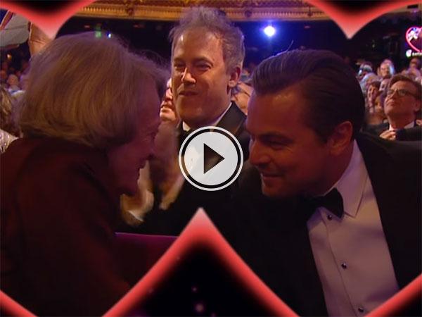 BAFTA Kiss Cam (Video)