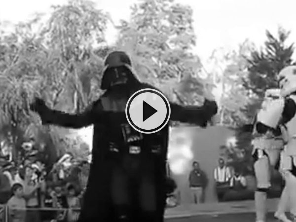 Imperial March in a Major Key (Video)
