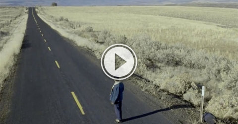 Wide shot loneliness (Video)