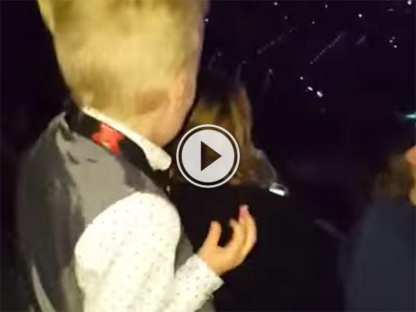 Cute kid dances to Justin Bieber (Video)