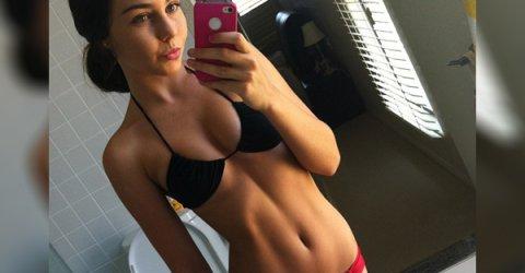 Selfies hot girl Sexy Hot