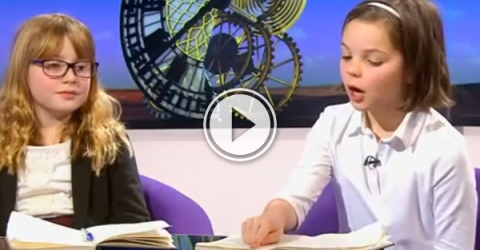 This little girl has her facts better together than most adults.