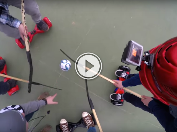 Hoverboard hockey should be the next olympic sport! (Video)