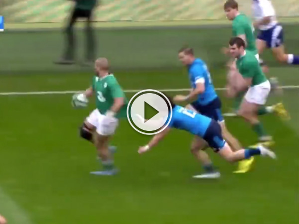 This try from Ireland against Italy is something very special.
