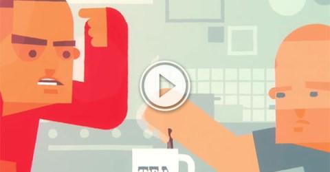 Doc Brown Tea Rap animated (Video)