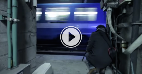 Sneaking around Montreal's Metro system is pretty daring! (Video)