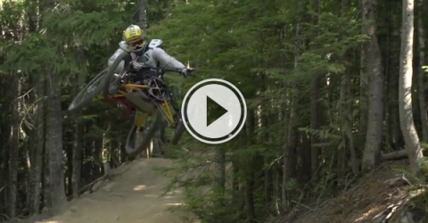 What's better than 2 wheel on the trail? 4 Wheels! (Video)