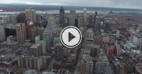 Take a look at what Montreal looks like from above (Video)