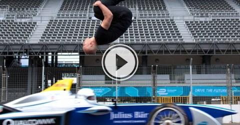 Freerunner, gymnast and Hollywood stuntman Damien Walters is no stranger to danger.